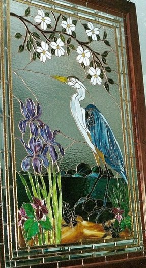Tiffany window panel 28