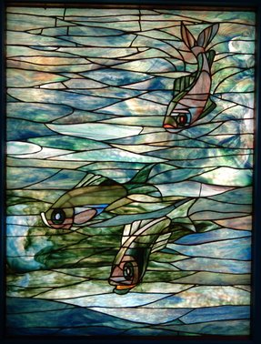 Tiffany window panel 4