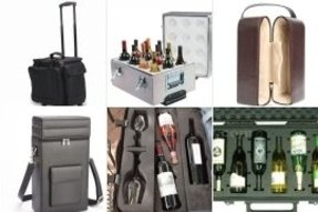 Wine carrying cases