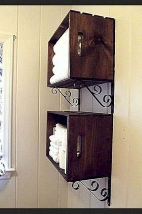 Bathroom Wall Shelves And Storage - Foter