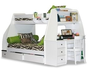 Bunk Bed Desk Combo 2
