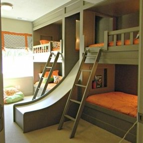 Bunk desk bed 4