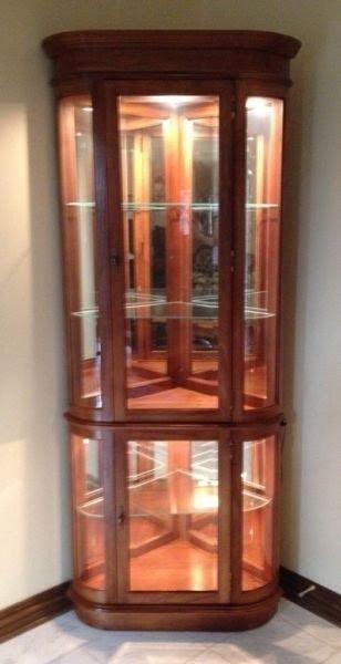 Corner Curio Cabinets For Sale 3