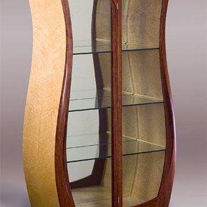 Curio Cabinet Custom Made By Heitzman Studios Curio Cabinet Curios