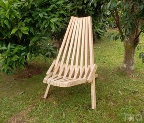 Foldable garden chairs