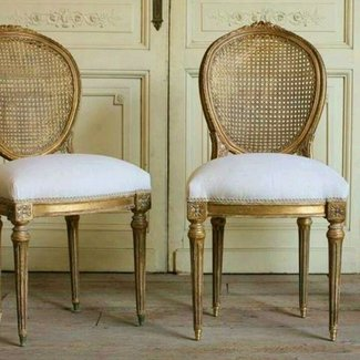 Pleasing French Cane Chairs Ideas On Foter Ncnpc Chair Design For Home Ncnpcorg