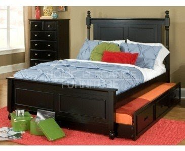 Beautiful Full Size Bed With Twin Pull Out