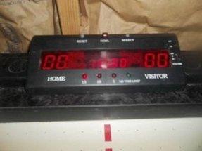 Air hockey scoreboard foter harvard 7ftx4ft air hockey table with digital scoreboard keyboard keysfo Images