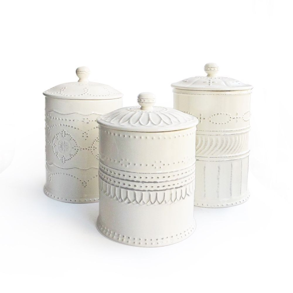 Exceptionnel Kitchen Cleanup 3 Piece Sofia Canister Set