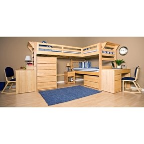 L shape bunk bed 7