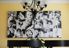Large family collage picture frames