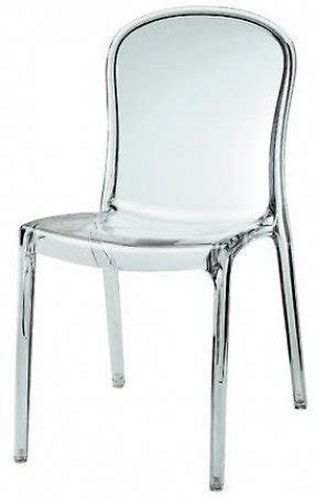 Lucite wingback chair