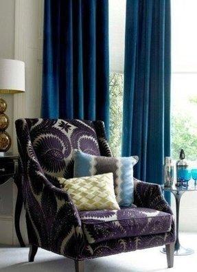 Purple Velvet Chair Foter