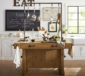 Long Butcher Block Kitchen Island : Rustic Kitchen Islands And Carts - Foter
