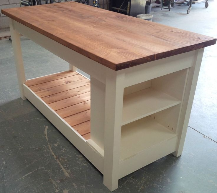 Rustic Kitchen Island Table Cart Kitchen Cabinet Cart Island Wooden