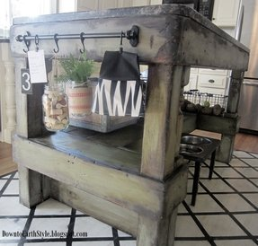 Rustic Kitchen Islands And Carts - Foter