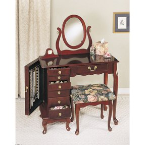 Vanity table set with mirror 24