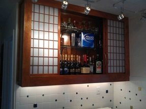 Wall Bar Cabinet - Foter