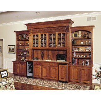 Propped up against the wall this classic large bar delights with its deep wooden finish. Providing various kinds of shelves and drawers ... : bar wall cabinet - Cheerinfomania.Com