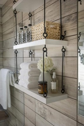 Wall Mounted Bathroom Shelf