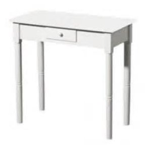 White Console Table With Drawers 20
