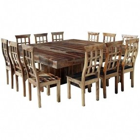 Youll have plenty of room with this contemporary dining set