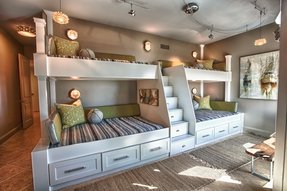 Boys bunk beds twin over full