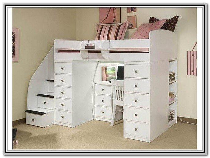 Beau Bunk Beds With Desk Underneath Ikea