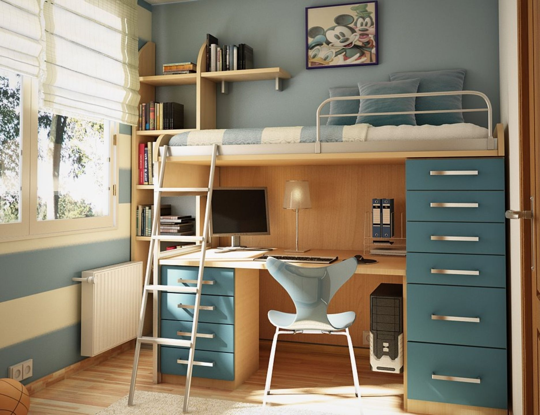 Exceptional Bunk Beds With Desks Underneath