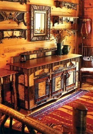 Campy And Rustic Furniture Perfect For The Adirondack Style Lake