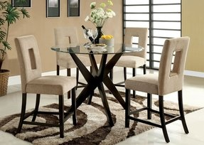 Counter height round dining table 1