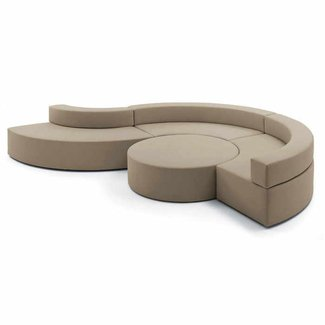 Curved sectional couch 2