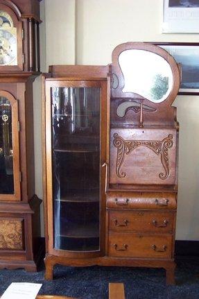 Furniture Secretary Desk Cabinet Foter
