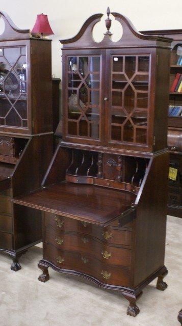 furniture secretary desk cabinet foter rh foter com Jofco Jasper Office Furniture Secretary Desk Solid Wood Secretary Desk