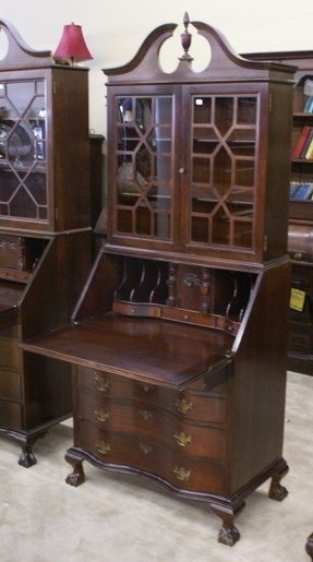 Furniture Secretary Desk Cabinet Foter