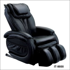 Leather massage recliner 13