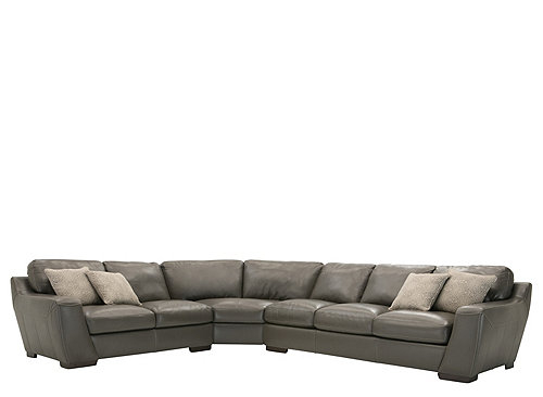 Delicieux Leather Sectional Sleeper Sofa 19