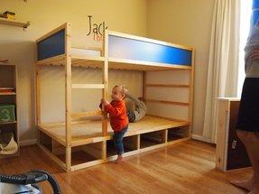 Loft Bed With Shelves Foter