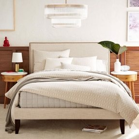 Low Headboard Queen Bed 1