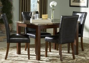 Marble Top Dining Room Sets - Foter