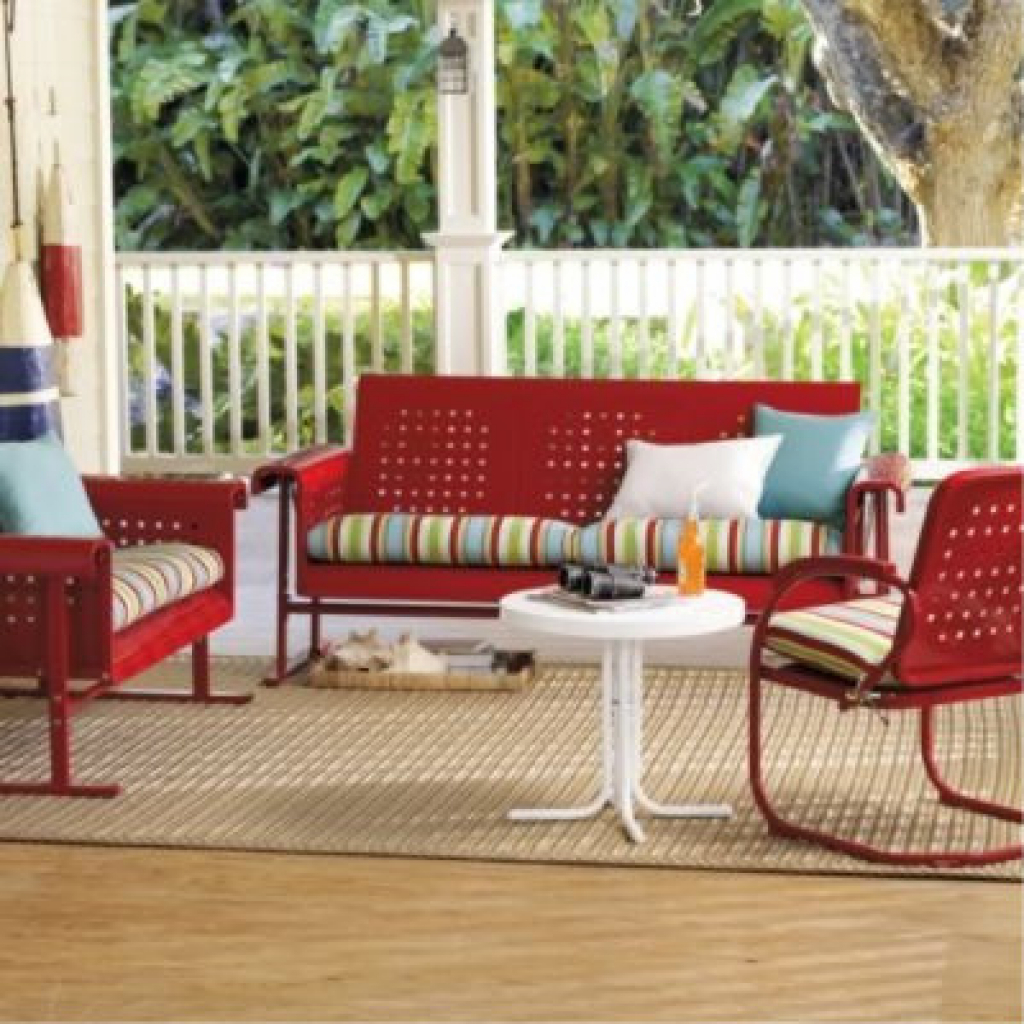 Red Patio Furniture