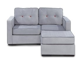 Small sectional with chaise 8