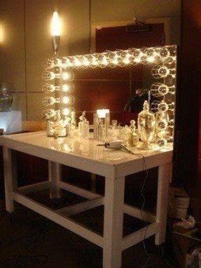 Vanity Table With Mirror And Lights Foter