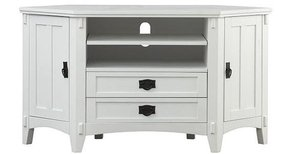 Wayfair white tv stand