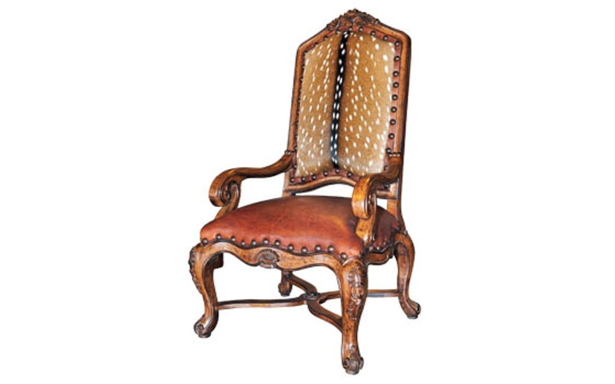 Charmant Wood Carved Arm Chairs 14