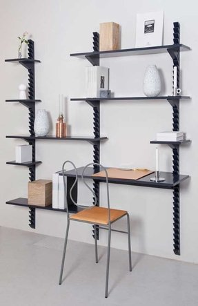 Wooden wall mounted shelves 29