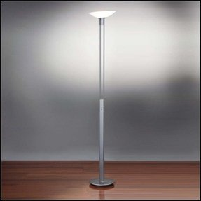 Halogen Torchiere Floor Lamp - Foter