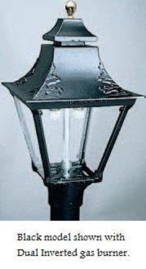 Swag lamp parts foter aluminum post mount electric lamp head gg2ae black aloadofball Choice Image