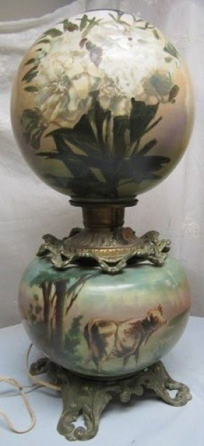 Antiques victorian table lamp foter antiques victorian table lamp 17 aloadofball Choice Image