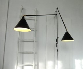 Arch swing arm wall lamp 2